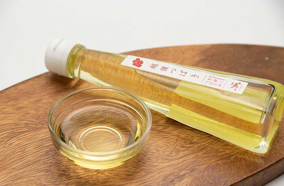 越後つばき(新潟県産食用生搾り椿油)