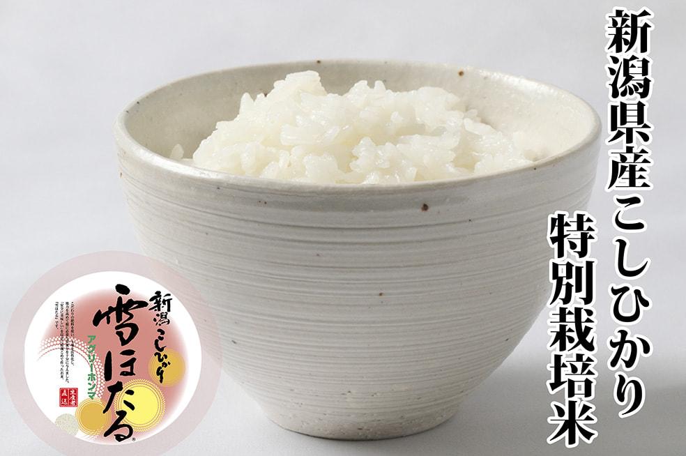令和元年度米 新潟産コシヒカリ 雪ほたる(特別栽培米)