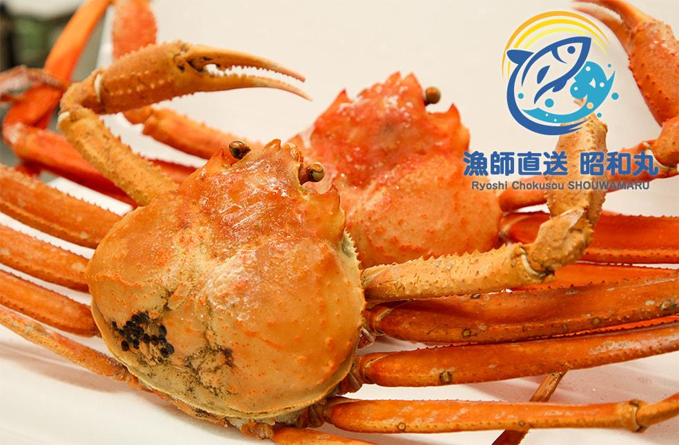 村上産 茹で紅ズワイガニ(冷蔵・冷凍)