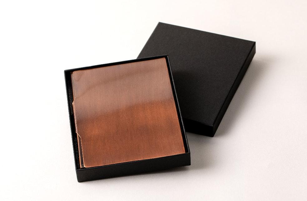 純銅製 携帯フリーケース