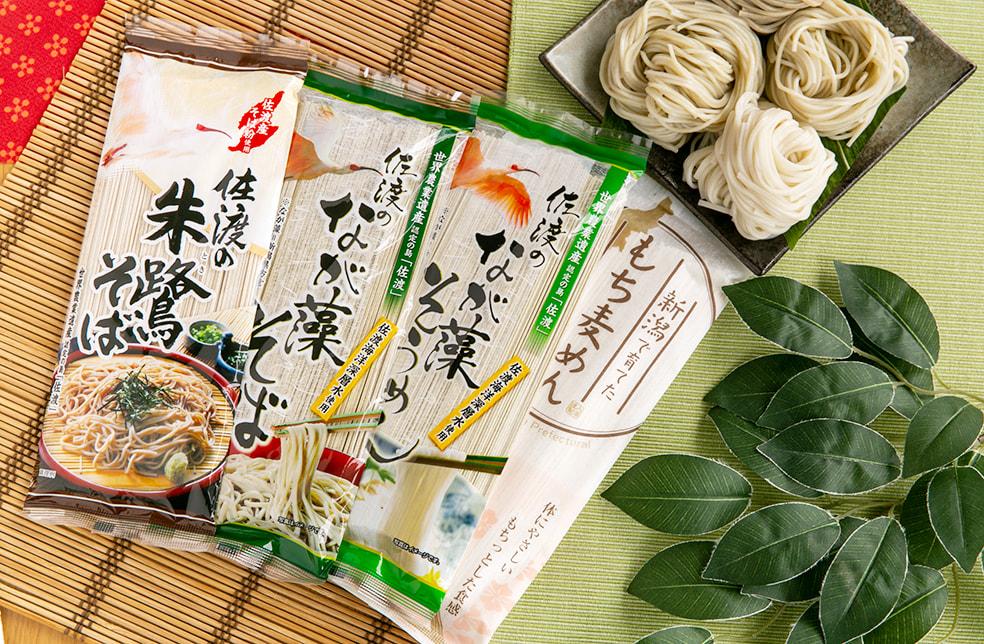 新潟のご当地麺セット