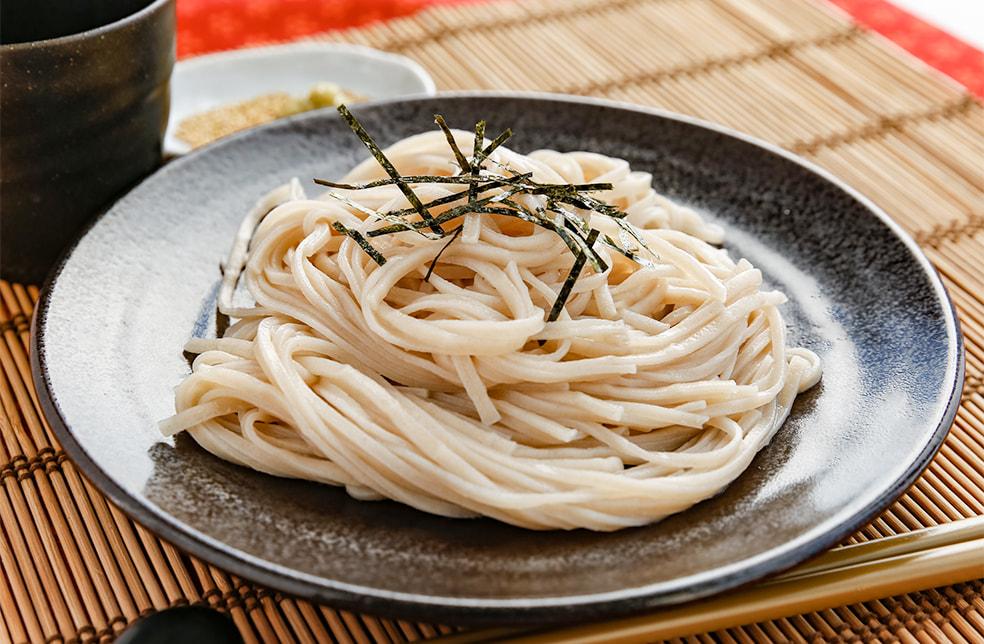 竹割風麺(大麦麺)