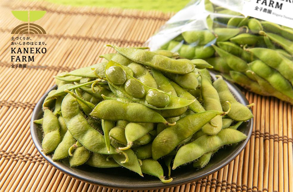 予約注文:新潟県産 枝豆