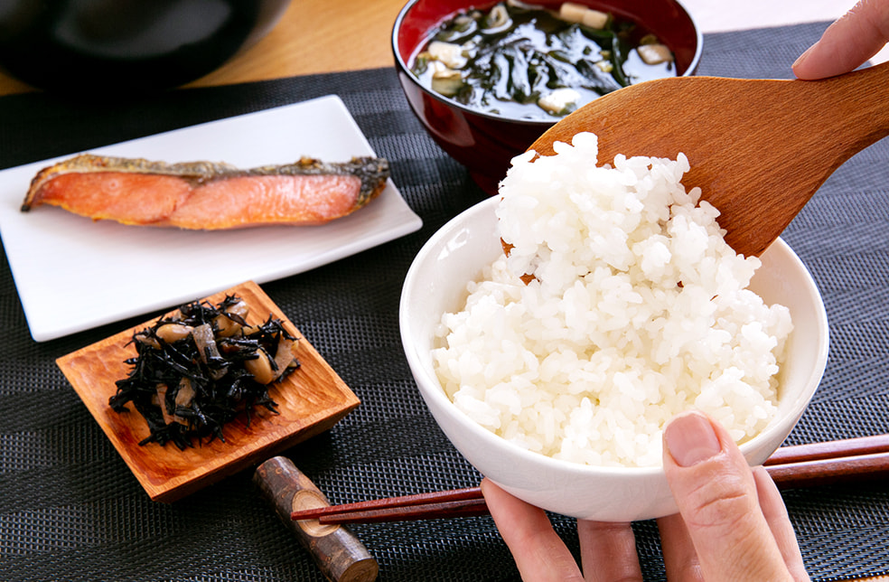 日日燦膳(米・木製食器・木製ケース)