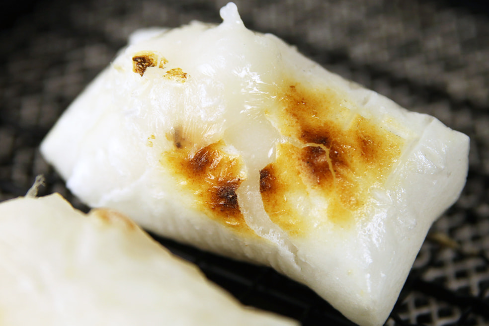 徳永農園の杵つき餅(こがねもち)
