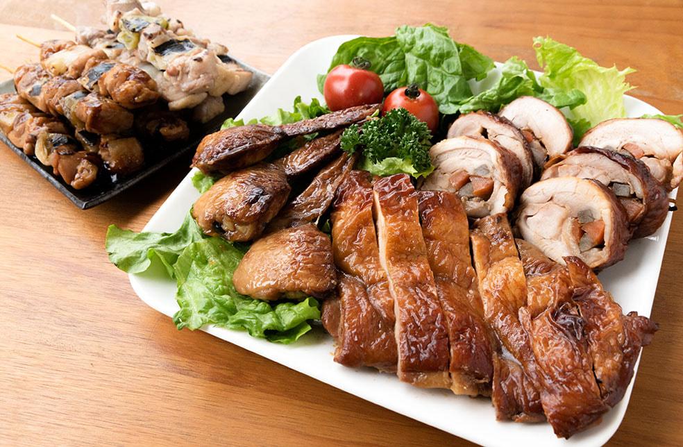 新潟県産鶏の惣菜詰め合わせ