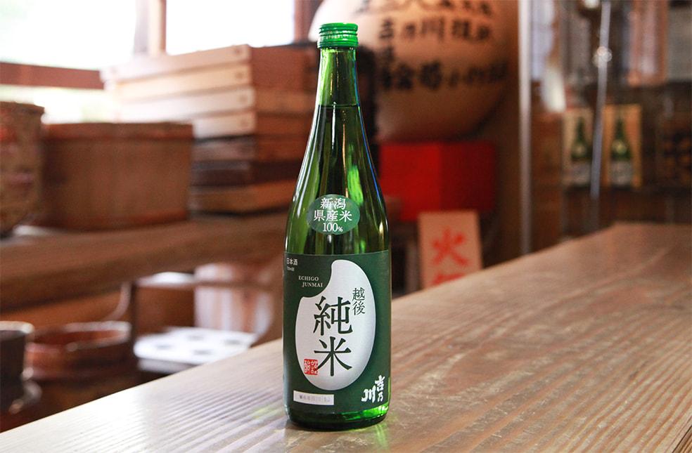 吉乃川 越後純米