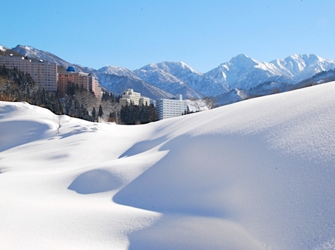 日本でも有数の豪雪地帯