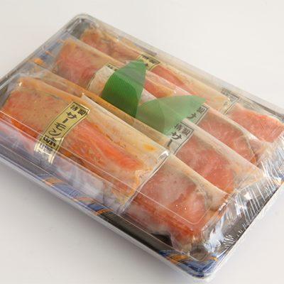 『サーモン切り身漬け』梱包イメージ