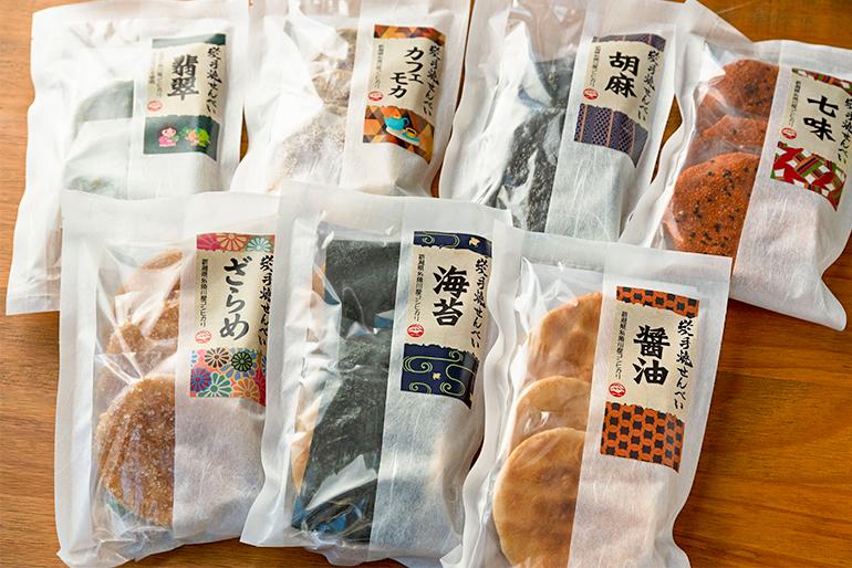 7種類からお好みの味を選べます!