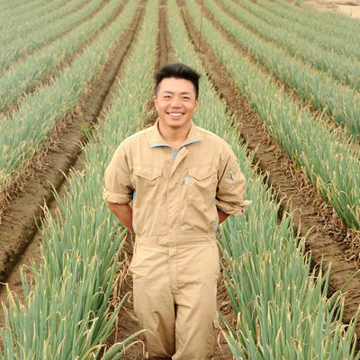 砂丘地で栽培