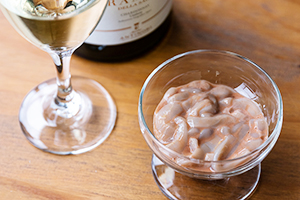3.「ワイン」を楽しむいかの塩辛 グリーン
