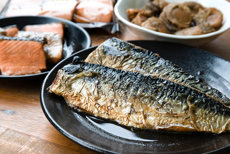 鮮魚のうま味を堪能できる3種類の焼漬け