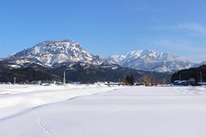 2.豊富な積雪量による潤沢な水資源