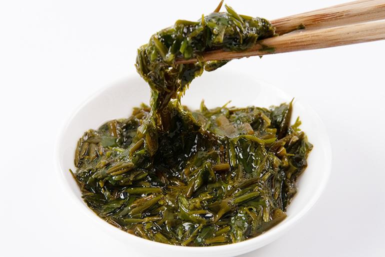 健康作用で大注目!食感が楽しい海藻「ナガモ」