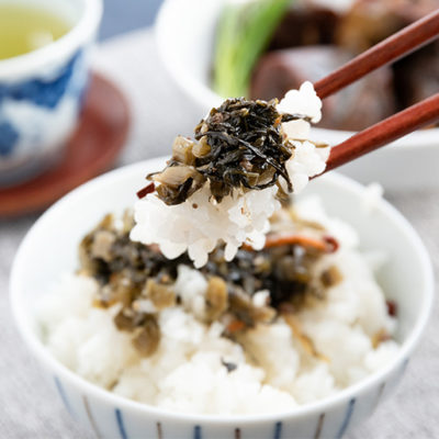 米どころ「魚沼」らしいご飯にぴったりの味わい