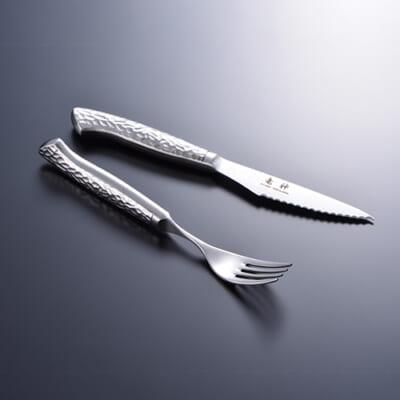 竜神 ステーキナイフ&フォーク