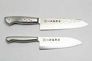 4.「御料理包丁」ステンレス一体型 槌目