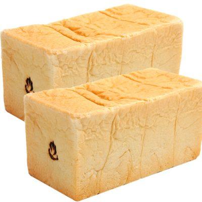 出湯温泉食パン 2本(2斤×2)入り