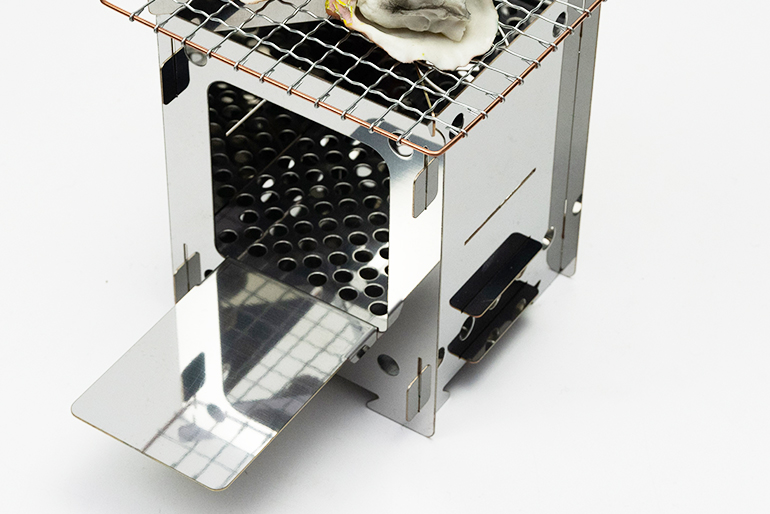 ミニ焚火台の使い方