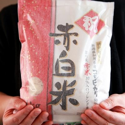 29年度米 祝!赤白米
