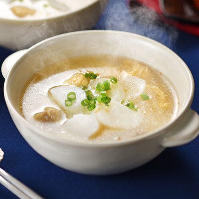 レンジアップ白玉 白湯鶏塩トックスープ 10袋入