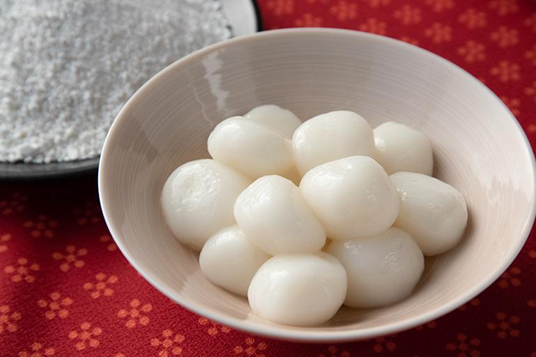 新潟県ならではの白くて美味しい白玉を味わえます!