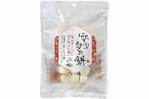 3.雪室貯蔵のレンジアップ白玉(みたらし味)