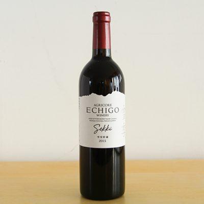 越後ワイン 雪季(せっき)赤 750ml
