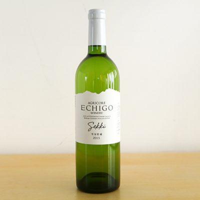 越後ワイン 雪季(せっき)白 750ml