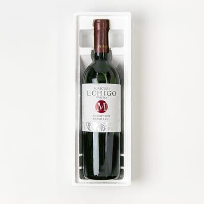 越後ワイン メルロー(赤)750ml