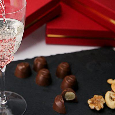チョコレートにも♪