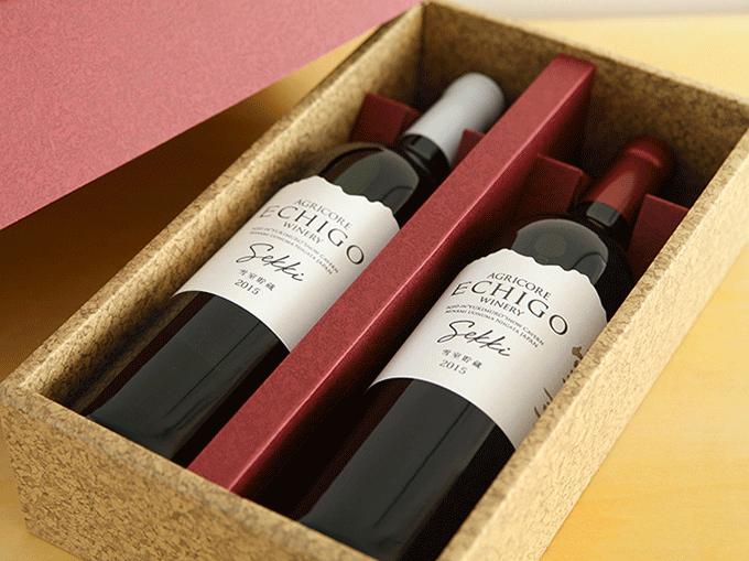 越後ワイン 雪季(せっき)赤・白