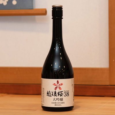 越後桜38大吟醸 720ml(4合)