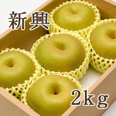 【贈答用】新興 2kg(4~5玉)