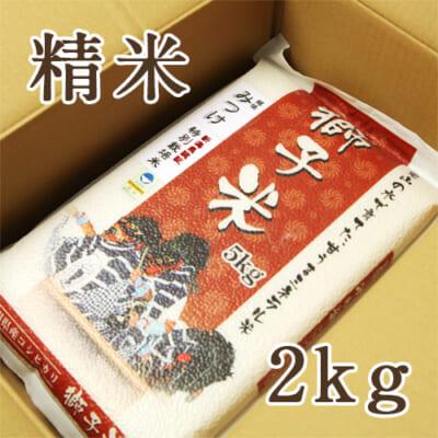 見附産コシヒカリ 獅子米 精米2kg