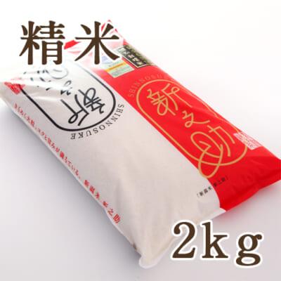 新潟産 新之助(特別栽培米)精米 2kg