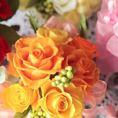 枯れないお花「プリザーブドフラワー」