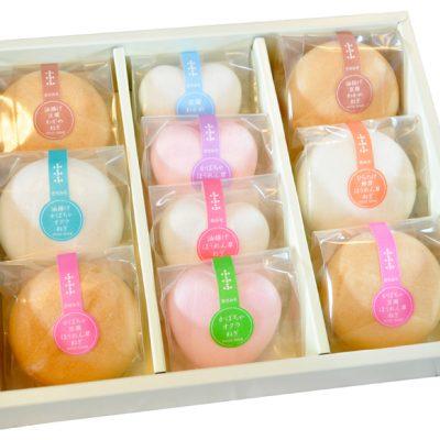 最中味噌汁10個セット(ハート×4 丸×6)
