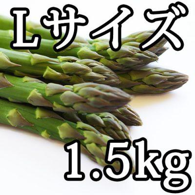グリーンアスパラガス Lサイズ 1.5kg