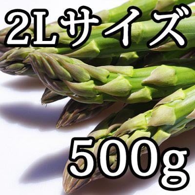 グリーンアスパラガス 2Lサイズ お試し500g