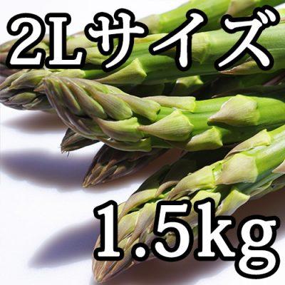 グリーンアスパラガス 2Lサイズ 1.5kg