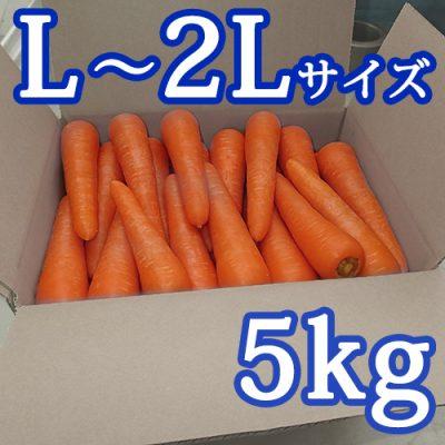 雪熟成にんじん(L~2Lサイズ)5kg