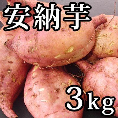 魚沼産 安納芋 3kg