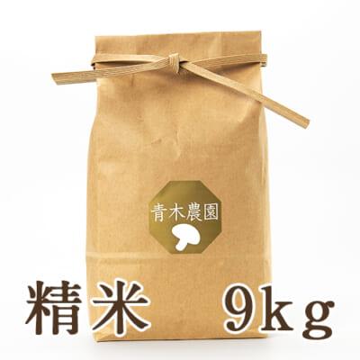 新潟県産 コシヒカリ(従来品種)精米9kg