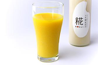 1.甘酒オレンジジュース