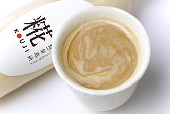 2.豆乳甘酒ラテ