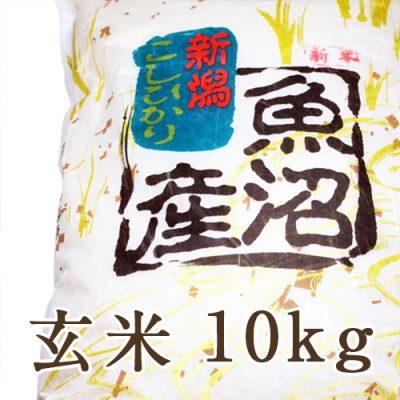 南魚沼 宇津野産コシヒカリ 玄米10kg