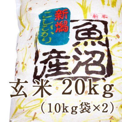 南魚沼 宇津野産コシヒカリ 玄米20kg