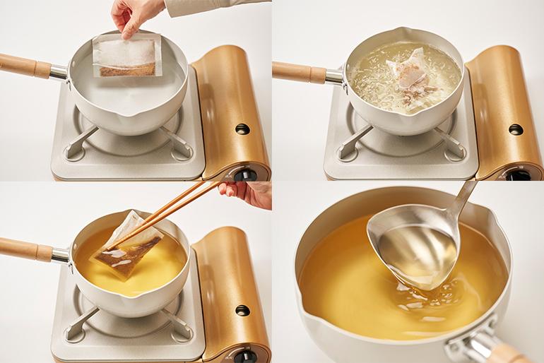 美味しいお出汁の引き方